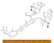 FORD OEM 11-14 Mustang 3.7L-V6 Exhaust-Muffler Damper BR3Z5F240A