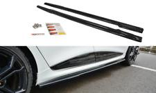 Renault Trafic bandas laterales Sportline negro revestido de calidad OEM 2014-2019 SS002 SWB