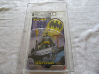 AFA Graded 85 Mattel 2003 Batman - Zip Line Batman Action Figure