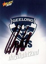 ✺Signed✺ 2012 GEELONG CATS AFL Card CHRIS SCOTT