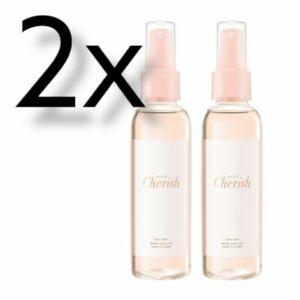 2x Avon Perfume Body Mist, Cherish, 100ml | Body Spray