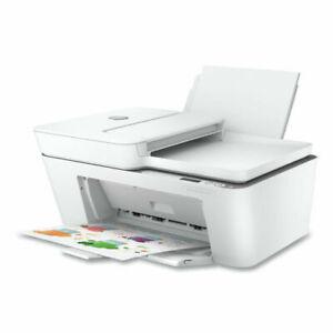 HP - DeskJet Plus 4155 Wireless All-In-One Instant Ink-Ready Inkjet Printer -...