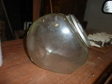 Mid 20th century COUNTRY store candy counter GLASS jar w metal LID 10 x 11 x 8.5
