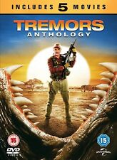 Tremors Anthology 1, 2, 3, 4 & 5 DVD 5 Movies collection New & Sealed