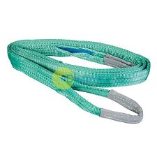 Heavy Duty Cargo Sling 2 Tonne 4M Strong Lifting Crane Strap Chemical Resistant