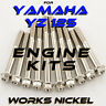 ENGINE Bolt Kit for 1994-2021 Yamaha YZ125 | Nickel Plating with the Ti Look