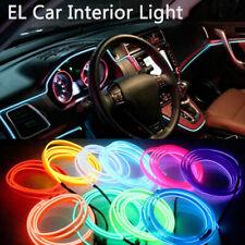 Auto EL LED Ambientebeleuchtung Innenraumbeleuchtung Lichtleiste Neon Licht 2-5M