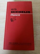 Guide Michelin Rouge  France de 1975