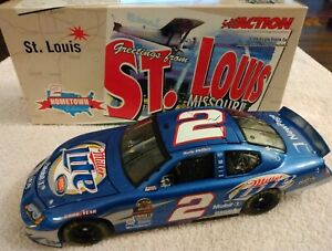 Rusty Wallace Miller Lite Hometown St. Louis 2005 Dodge Charger 1/24 Action