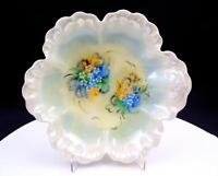 "HAVILAND LIMOGES FRANCE MOTHER OF PEARL 8 1/4"" SHELL BOWL"