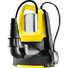 Kärcher Entwässerungspumpe SP 6 Flat Inox 1.645-505.0, Tauch- / Druckpumpe, gelb