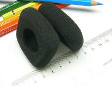 2 Ohrpolster 50 mm aus Schaumstoff zB für Bang & Olufsen Form 2 B&O quadratisch
