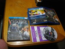 Chappie (Blu-ray Disc, 2015, Canadian)