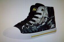 29c4c91e82e853 NWT Batman V Superman Dawn of Justice Boys High Top Sneakers Shoes Size 11
