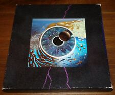 PINK FLOYD ~ PULSE ~ UK LTD EDITION BOX SET OF 4 VINYL LP DISCS & BOOK 1995