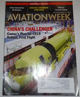 Aviation Week Magazine China's Challenger Zhuhai Airshow November 2014 120514R