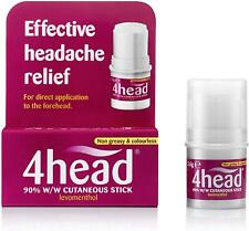 4head Levomenthol Stick for Headache Relief, 3.6g