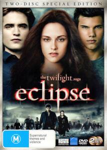 The Twilight Saga 'Eclipse' Robert Pattinson, Kristen Stewart- New Sealed 2 DVDs