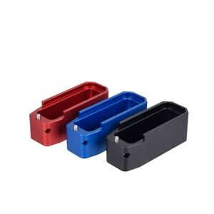 Tactical PMAG Magazine Extension Base Pad Black/Red/Blue
