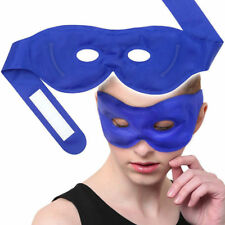 Gel Eye Mask Ice Hot Cold Pack for Puffy Eye Dry Dark Circle Relaxing Black Cool