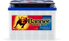 Batterie camping car decharge lente banner energy bull 95551 12v 72 ah bateau