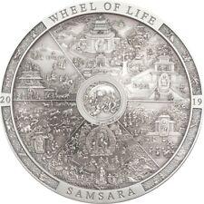 Cook Islands 2019 20$ Samsara Wheel of Life - Archeology & Symbolism 3oz