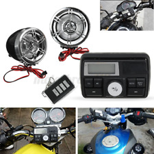 bluetooth Motorcycle Handlebar Audio Radio Stereo MP3 USB FM Speaker System  `.