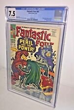 Fantastic Four #60, CGC 7.5, Off-White to White Pages