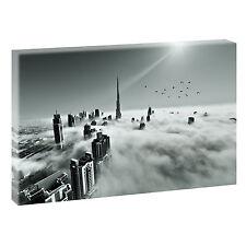 Dubai Panorama Bild Keilrahmen Leinwand Poster Wandbild XXL 120 cm* 80 cm 632