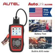 Autel AutoLink AL539B OBDII Code Reader Battery Testing Read Clear Fault Codes