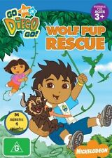 GO DIEGO GO - WOLF PUP RESCUE DVD *BRAND NEW AND SEALED* GOING CHEAP!