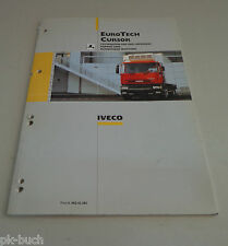 Werkstatthandbuch / Wartungshandbuch Iveco EuroTech Cursor Stand 07/1998