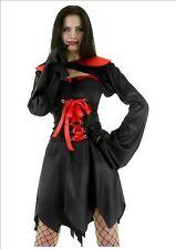 Sexy ZANNE VAMPIRO STREGA Libro Settimana Costume Horror UK 12-14 p5896