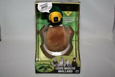 DUCK DYNASTY TALKING LOUD MOUTH MALLARD MOTION ACTIVATED COMMANDER A&E SI PHIL