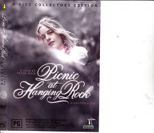 Picnic At Hanging Rock-1975-Rachel Roberts-Collectors Edition 2 Disc-Movie-DVD
