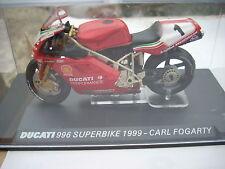 DUCATI 996 SUPERBIKE 1999-CARL FOGARTY scala 124