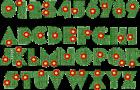 ABC Designs Flores Alphabet Machine Embroidery Designs 4