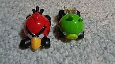 2012 Rovio Mattel Angry Birds Die Cast Cars Telepods; Red Bird & Green Pig