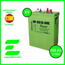 Bateria Solar UP-GC16-6RE 600Ah 6v C120 - 550 Ah en C100 U-POWER baterias