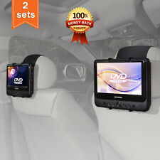 TFY Car Headrest Mount Holder for SYLVANIA SDVD9805 Portable DVD Player 2 Pieces