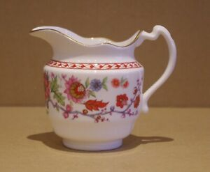 ### SUPER ROYAL WORCESTER 250TH ANNIVERSARY MINIATURE JUG - CHINOISERIE ###