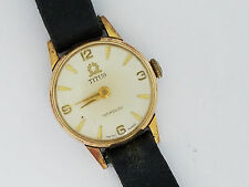 Vintage ladies Titus Solvil Swiss Wristwatch - 3508