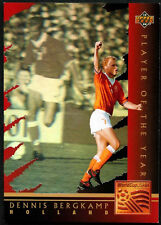 Dennis Bergkamp Player Of The Year #WC5 World Cup USA '94, (Eng/Ger) Card (C386)