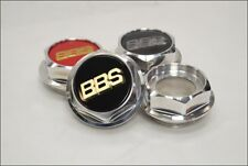 BBS RS Hex Nuts RC Center Caps 15 16 17 18 19 Inch Small Thread 58mm Vw Bmw NEW!