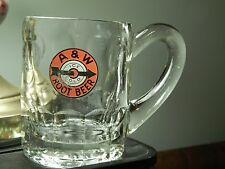 A & W ~ Ice Cold ~ Root Beer (Hefty) Large Ear Handle (Frosty MUG) Vtg Drive-In