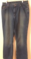 Riders Relaxed Womens Jeans Plus Size 18M Straight Leg Medium Wash (2D)