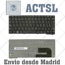 KEYBOARD TECLADO Español SAMSUNG np N148 N150 N158 NB20 NB30 Negro Fondo blanco