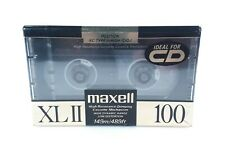 Maxell XLII 100 Minutes High Bias Audio Blank Cassette Tape