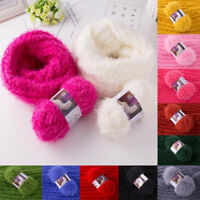 100g/Ball Mink Cashmere Yarns Fur Mohair Wool Anti-Pilling Knitting Crochet Yarn