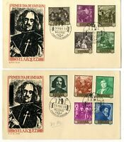 2 Sobres primer dia sellos de España Diego de Velazquez 1959